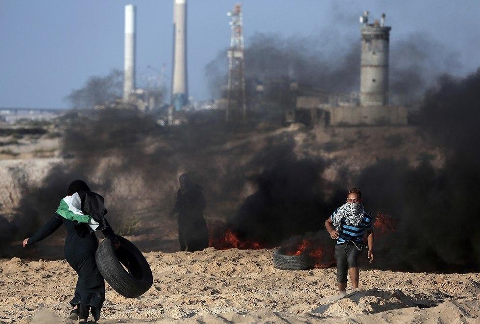 Violence in Gaza (Photo: AP)