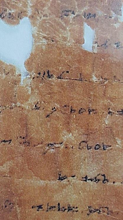 תחת מחלוקת משפטית. הדף שנגזר מספר התורה העתיק (צילום: אסף קמר)