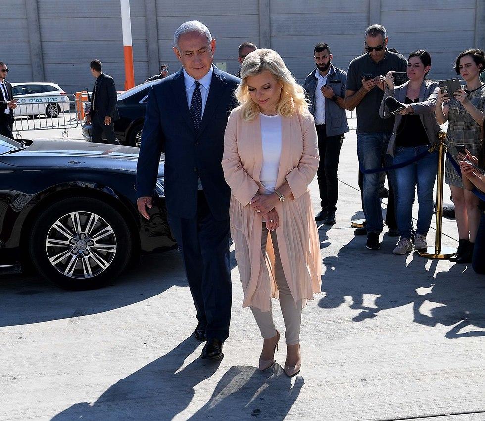 Benjamin and Sara Netanyahu (Photo: GPO)
