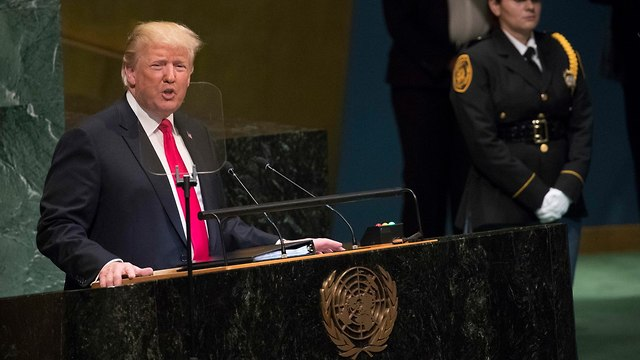 President Trump at UNGA 2018 (Photo: AP)