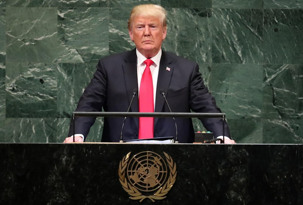 Trump speaking the United Nations General Assembly (Photo: Reuters)