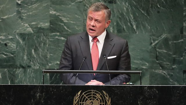 King of Jordan Abdullah Hussein (Photo: AFP)