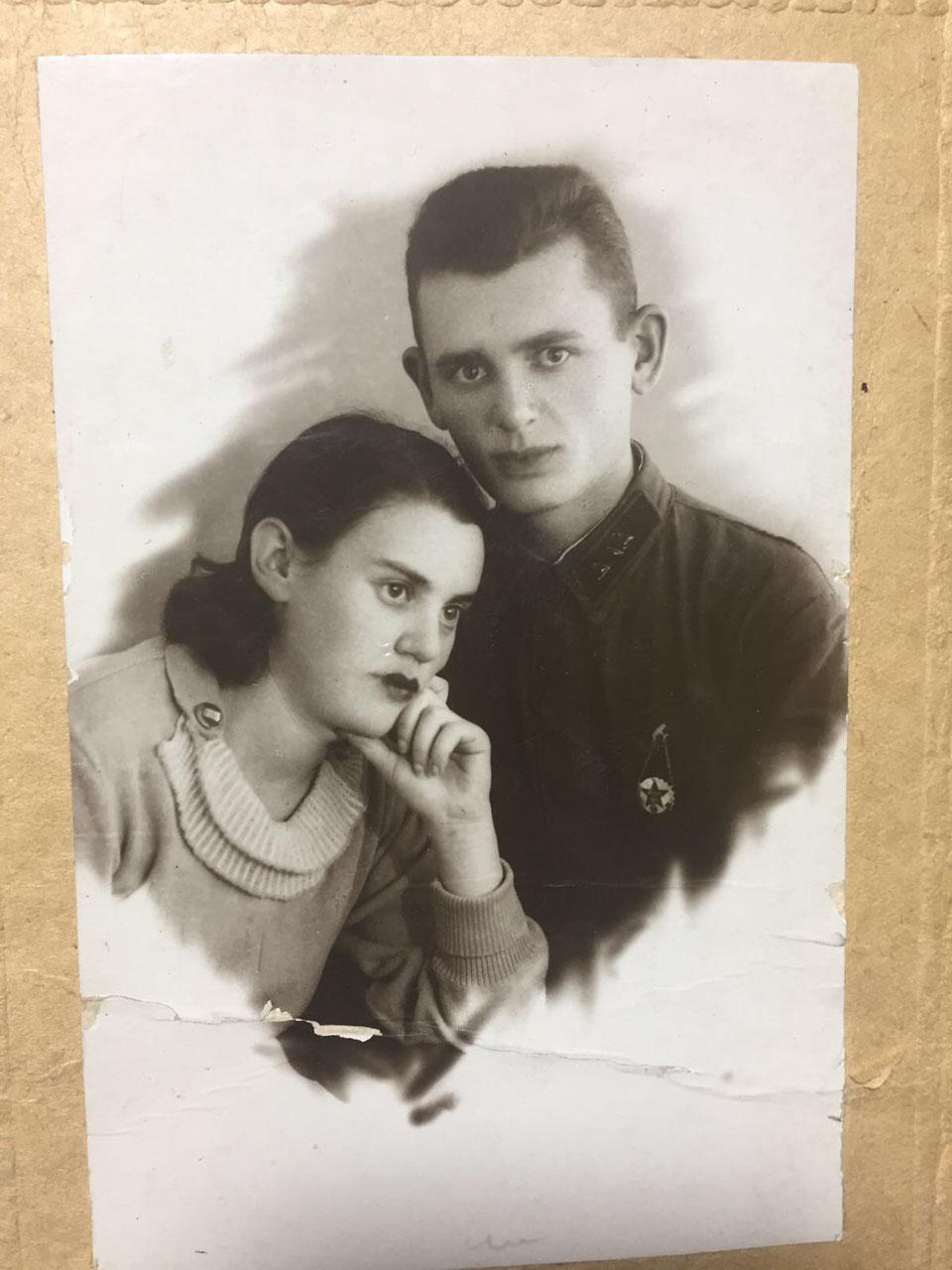 Иосиф Шайман с супругой. Фото из семейного архива