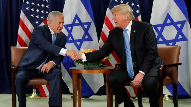 US President Donald Trump with Benjamin Netanyahu (Photo: Reuters)