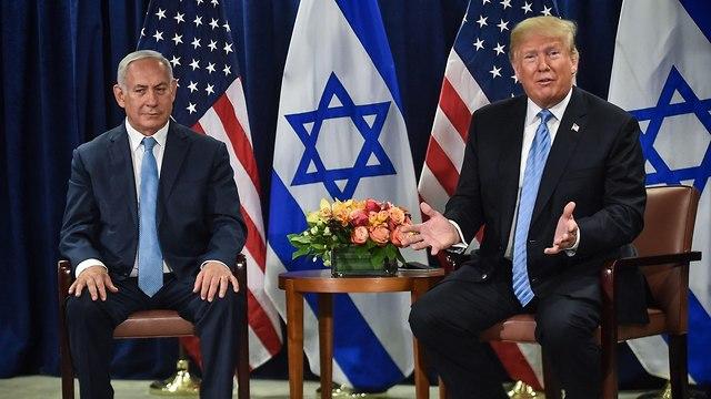 Trump and Netanyahu (Photo: AFP)