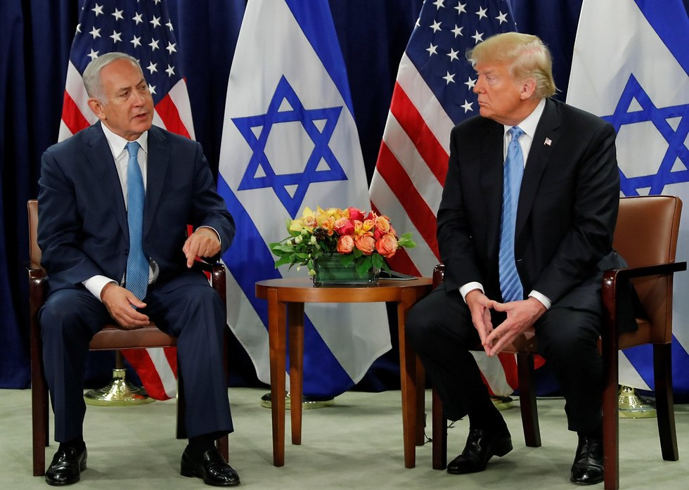 Netanyahu-Trump meeting (Photo: Reuters)