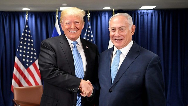 Bosom buddies: Netanyahu and Trump (Photo: Gov. Press Office)