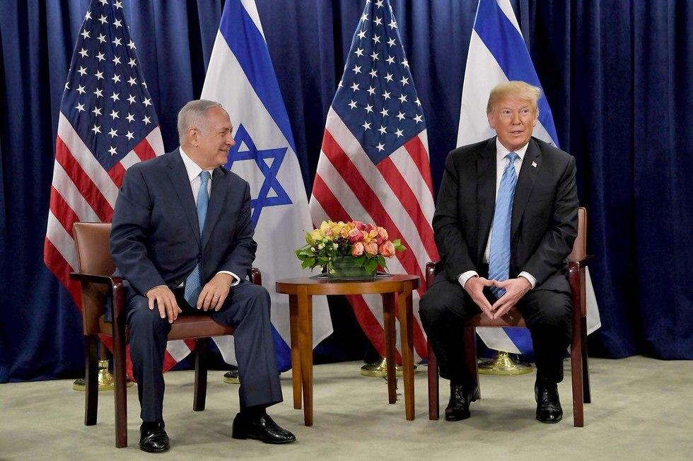Israeli Prime Minister Benjamin Netanyahu and US President Donald Trump (Photo: GPO) (Photo: GPO)