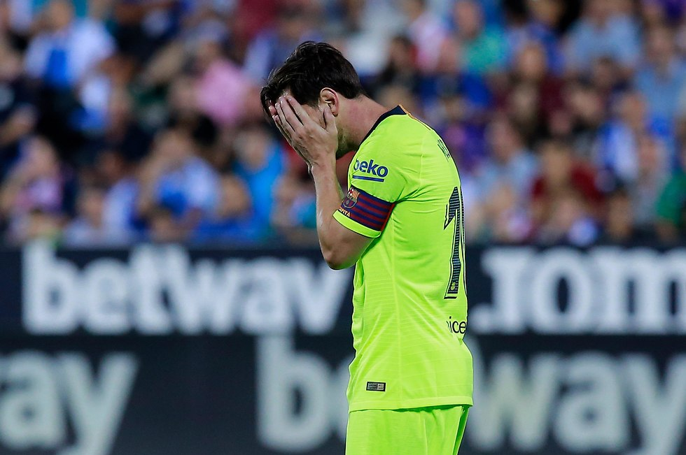 לאו מסי ברצלונה אכזבה (צילום: Getty Images)