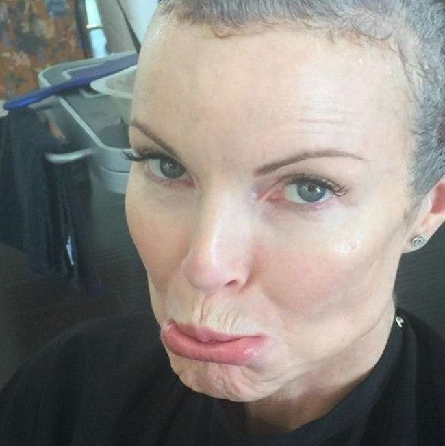 מרשה קרוס חושפת את תוצאות המאבק בסרטן (צילום: אינסטגרם)