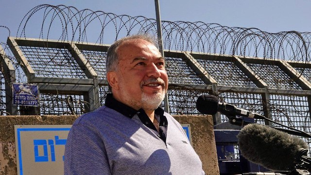 Defense Minister Avigdor Lieberman