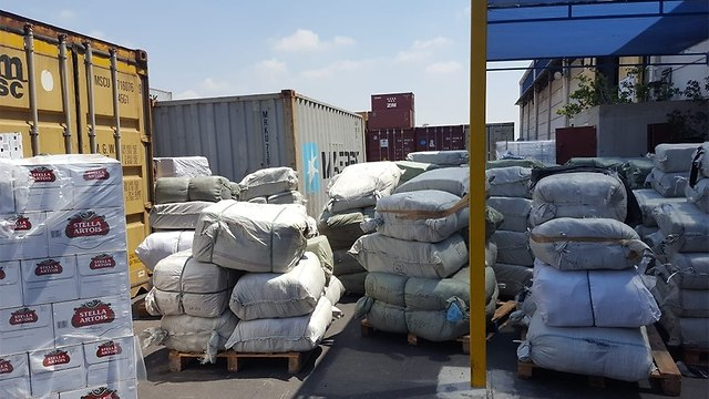 Impounded merchandise (Photo: Tax Authority Spokesperson)
