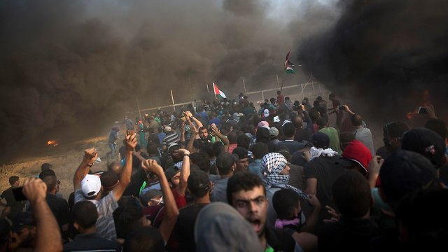 Gaza protests (Photo: AP)
