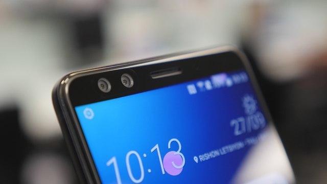 +HTC U12 (צילום: גיא לוי)