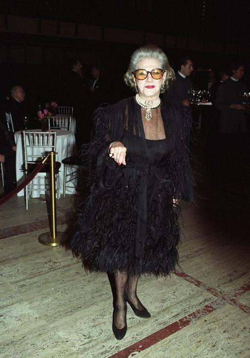 בשנת 1993 זכתה בפרס על מפעל חיים של מועצת המעצבים האמריקאית. פאולין טריג'ר (צילום: rex/asap creative)