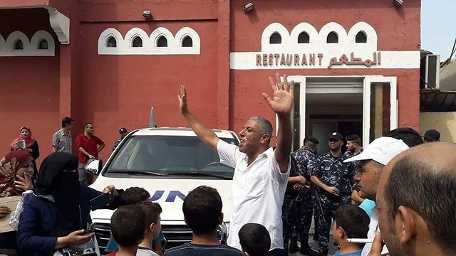 Протесты против  UNRWA в Газе