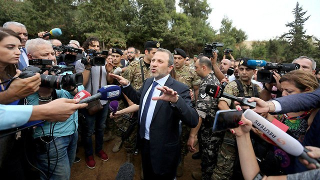 Gebran Bassil (Photo: Reuters)