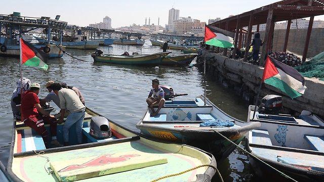 Gaza port (Photo: EPA)