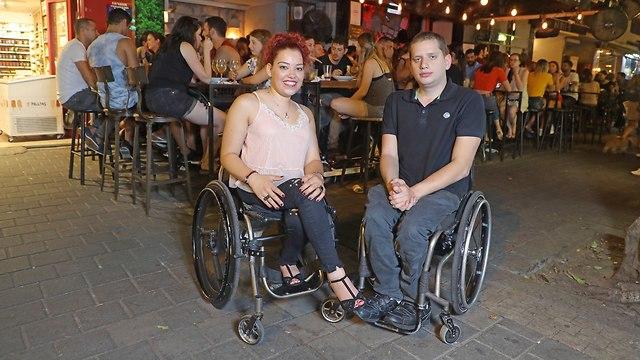 ויטל זינגר ותומר יצקן (צילום: דנה קופל)