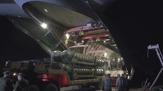 S-300 arrives in Syria