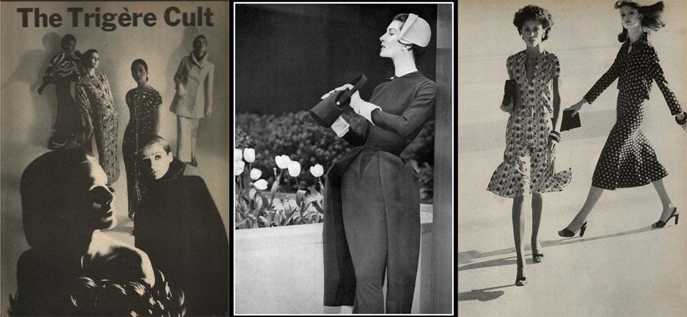 """""""העבודה של מאדאם טריג'ר מוצגת בהמון מוזיאונים ומוסדות אופנה, כי היא על-זמנית"""" (צילום: Trigère Instagram)"""