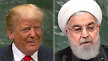 Leaders of Iran and US