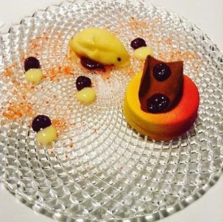 Deca's 'Spring' dessert (Photo: Buzzy Gordon)