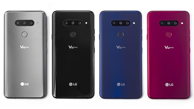 LG V40 (צילום: יח