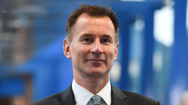 בריטניה היורשים של תרזה מיי ג'רמי האנט ג'רמי הנט הוועידה השמרנית (צילום: AFP)