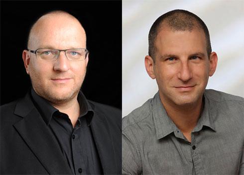 מימין: רן בראון (צילום: פרג'), תמיר ליאון
