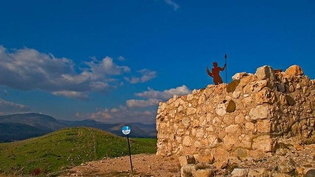 תל חצור (צילום: דורון ניסים)