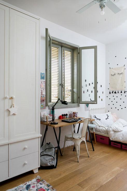 חדרה של הילדה (צילום: שירן כרמל)