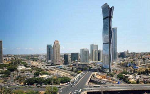 גם המלון הגדול בישראל אמור להיות חלק מהפרויקט, שמעורר התנגדויות רבות (הדמיה: מילוסלבסקי אדריכלים)