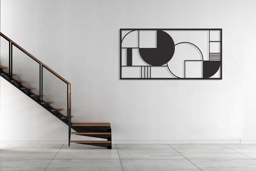 יצירת אמנות לא חייבת לכלול צבע, בד או נייר: ''החתיכה החסרה'' של סטודיו ''גליפס'' היא עבודת ברזל המבוססת על הספר המפורסם ועולה 2,500 שקלים (צילום: סטודיו גליפס)