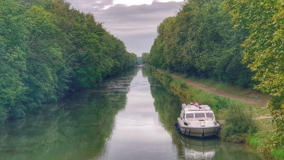 שייט על נהר הסון, צרפת (צילום: יריב כץ)
