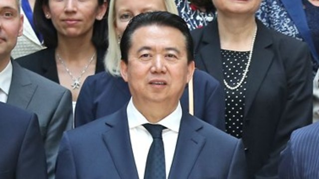 Meng Hongwei (Photo: gettyimages)