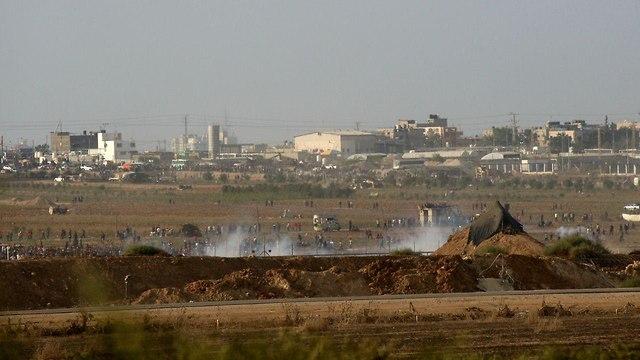 Gaza protests (Photo: Roee Idan)