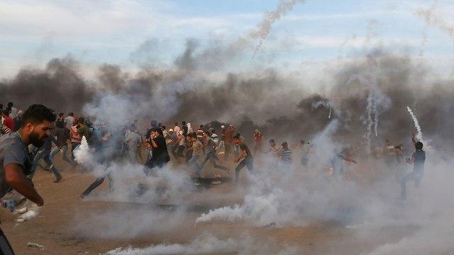 Protestas en Gaza (Foto: Reuters)