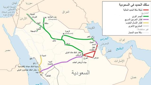 סעודיה ריביירה טור של פרידמן קווי רכבת ()