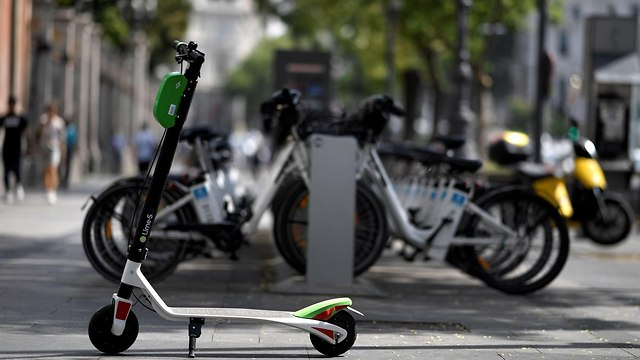 קורקינטים חשמליים (צילום: AFP)