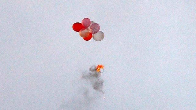 Incendiary balloons (Photo: AFP)