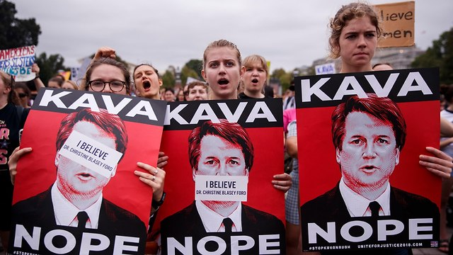 Demonstration outside US Senate over Kavanaugh's appointment to the Supreme Court (Photo: EPA)