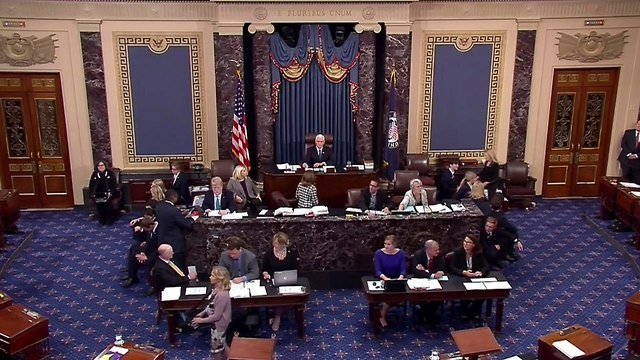 US Senate vote (Photo: AP)