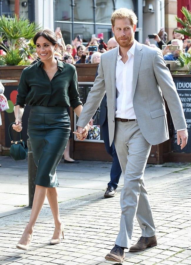 הזוג המלכותי. מייגן מרקל והנסיך הארי (צילום: Gettyimages)