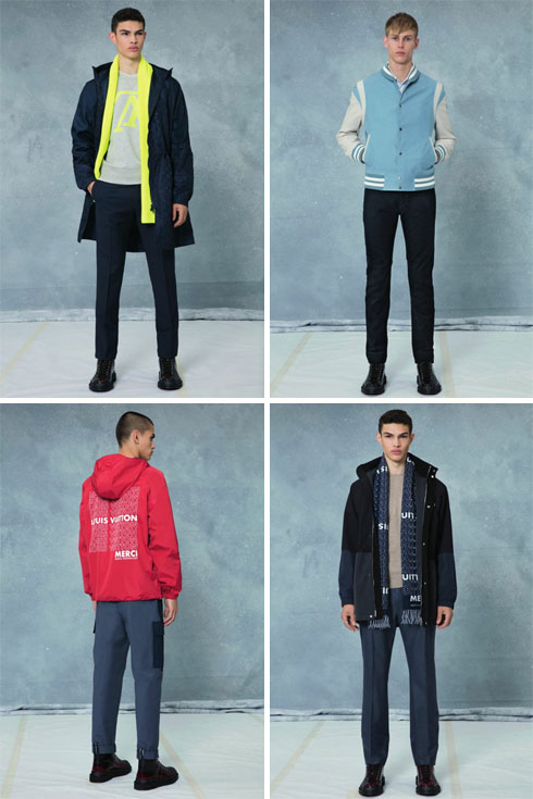 לואי ויטון. קולקציית בגדי הגברים נוחתת בישראל לזמן מוגבל מאוד (צילום: לואי ויטון מלטייר)