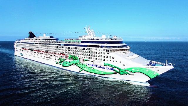 האונייה של הקו בקריביים: ג'ייד (צילום: NCL)