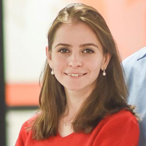 """תניה אטיאס. שותפה מייסדת ומנכ""""לית חברת """"מדינט - מדיקל אינטליג'נס"""" (צילום: דניס קופל)"""