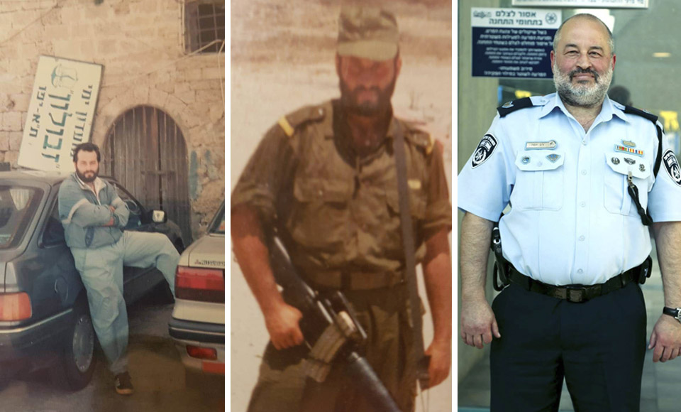 Слева направо: Лев Иоффе в первые дни в Израиле, во время службы в ЦАХАЛе и сейчас