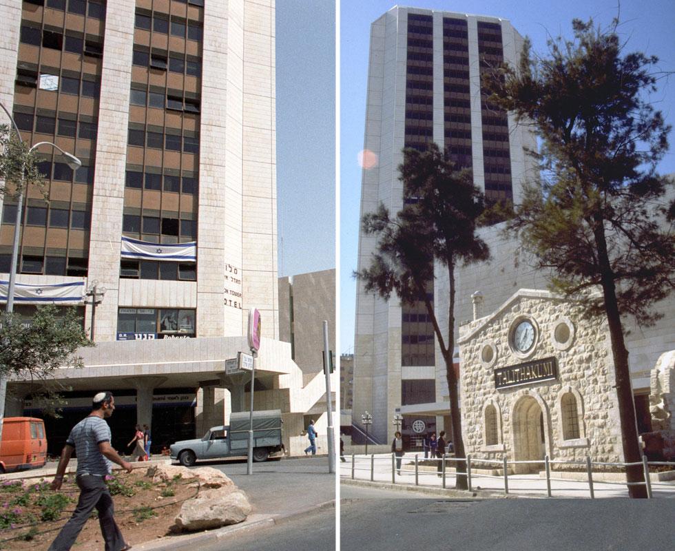 """הוא נחנך 30 שנה אחרי קום המדינה, וזו עודדה להקים בו מלון כדי לחזק את התיירות לירושלים (צילום: חנניה הרמן, לע""""מ, דוד רובינגר)"""