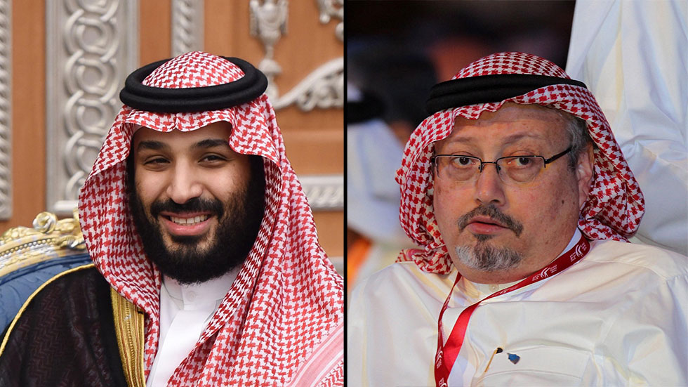 Jamal Khashoggi and crown prince of Saudi Arabia (Photo: EPA, AFP)
